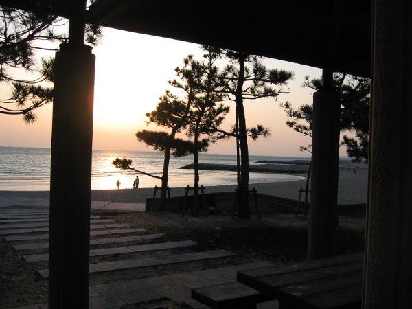 林崎・松江海水浴場